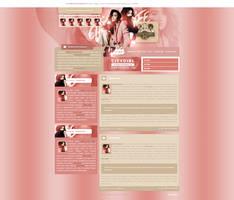 Shay Mitchell design for CityGirlLife fansite by BrielleFantasy
