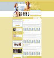 Celine-Dion.Org ~ WordPress Theme by BrielleFantasy