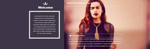 Emilia Clarke PSD Header | FREE