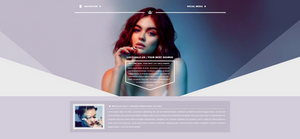 Lucy Hale Diamond PSD Header | FREE by BrielleFantasy