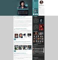 KitHaringtonFans.Com | New WordPress theme by BrielleFantasy