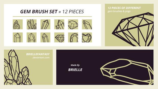 Gem Brush Set | FREE