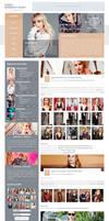 Emma Roberts Daily | WordPress Theme by BrielleFantasy
