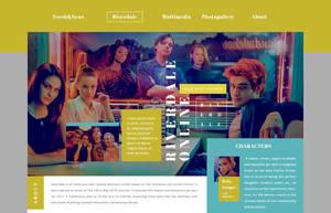 Riverdale PSD header | FREE