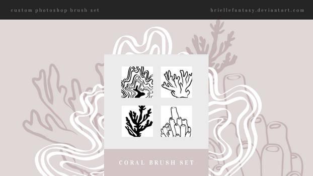 Coral Brush Set   FREE