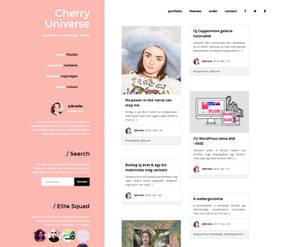 New design on CherryUniverse