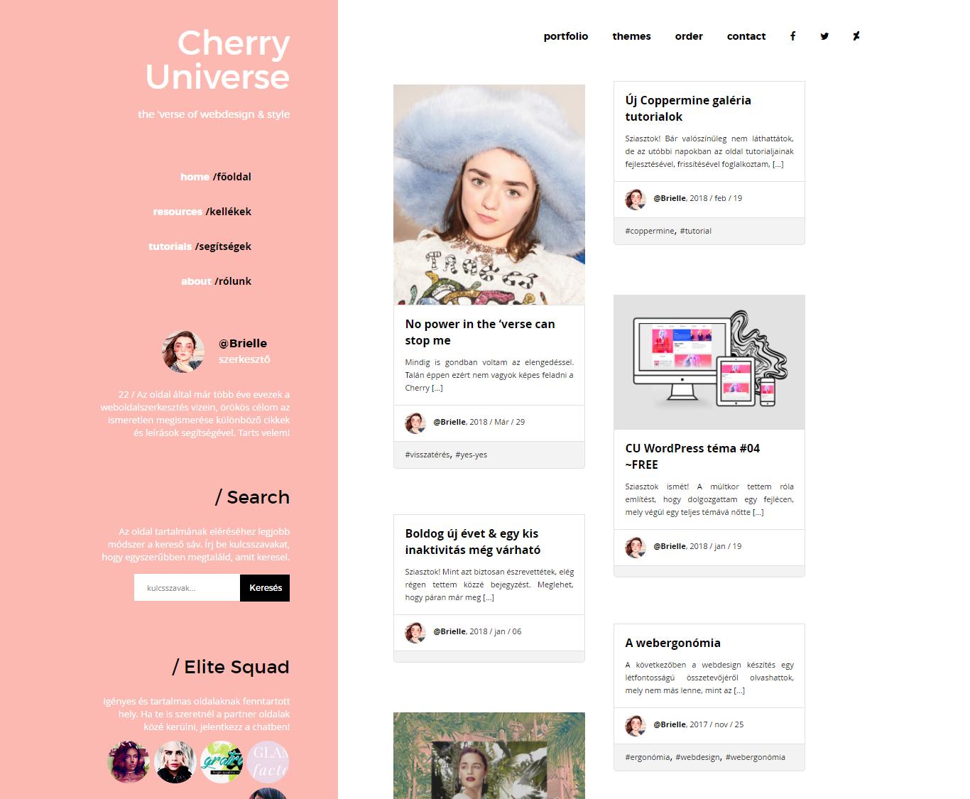 New design on CherryUniverse by BrielleFantasy