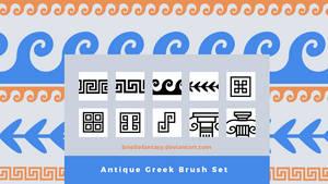 Antique Greek Brush Set | FREE