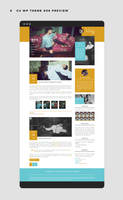 CU WordPress Theme #06 ~responsive {Premium} by BrielleFantasy