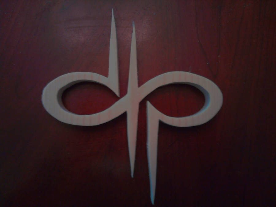 Devin Townsend Project Logo Wood Carving by Eleven1129