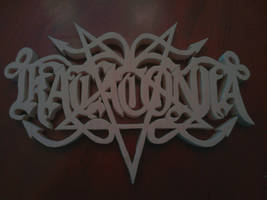 Katatonia Band Logo Wood Carving by Eleven1129