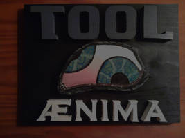 Tool Aenima Custom Painted Wood Panel by Eleven1129