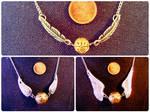 Golden Snitch Necklaces