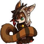 Chibi Mau Pixel by Reyniki