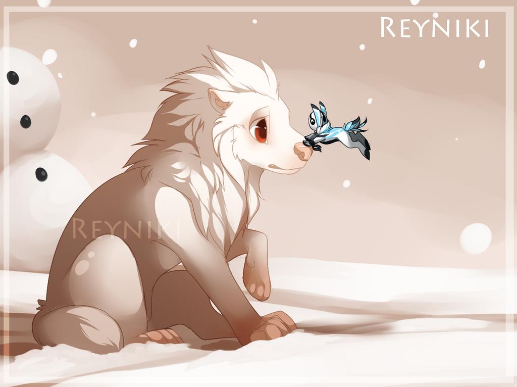Polar Greetings by Reyniki