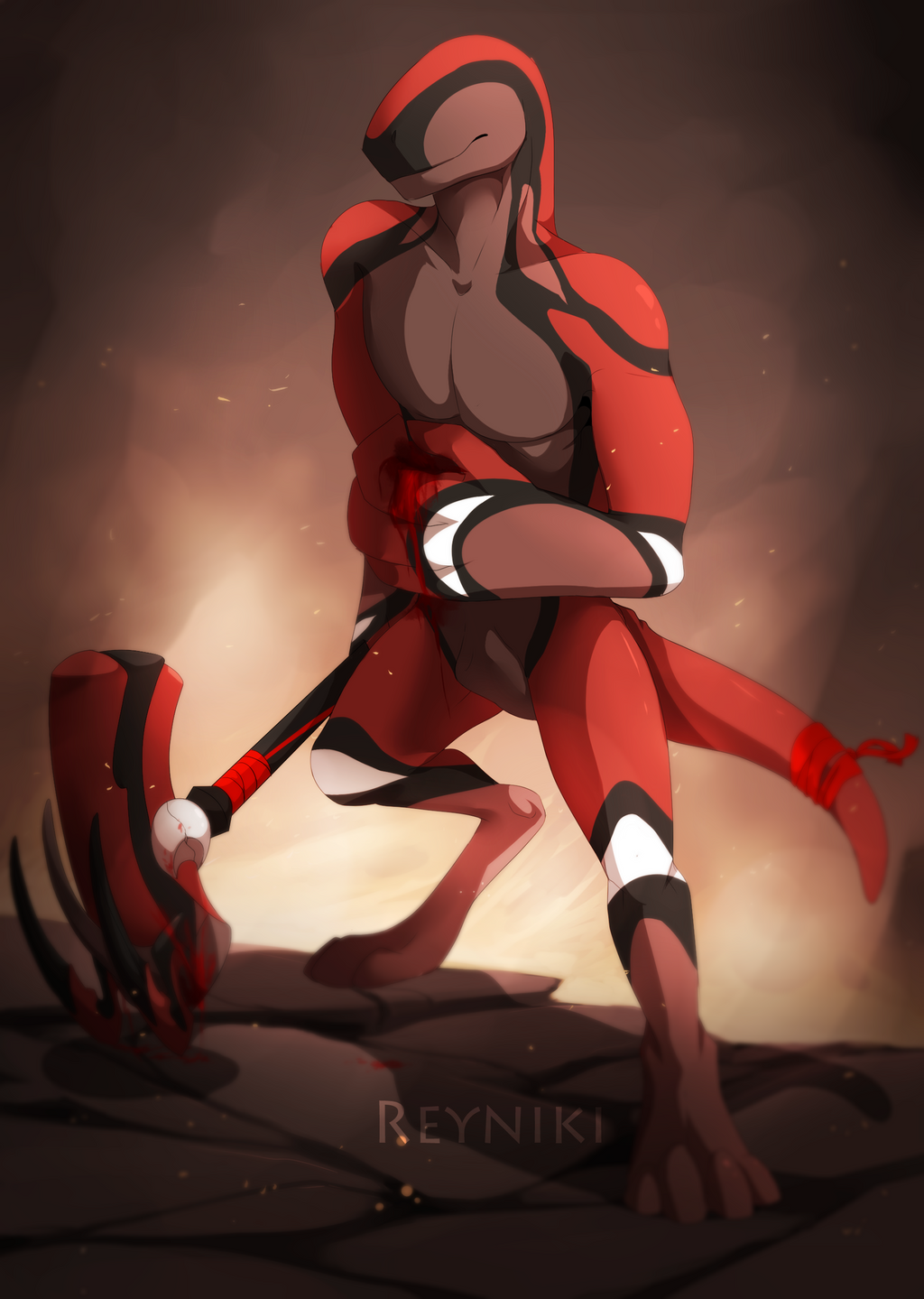 The Returning Warrior by Reyniki