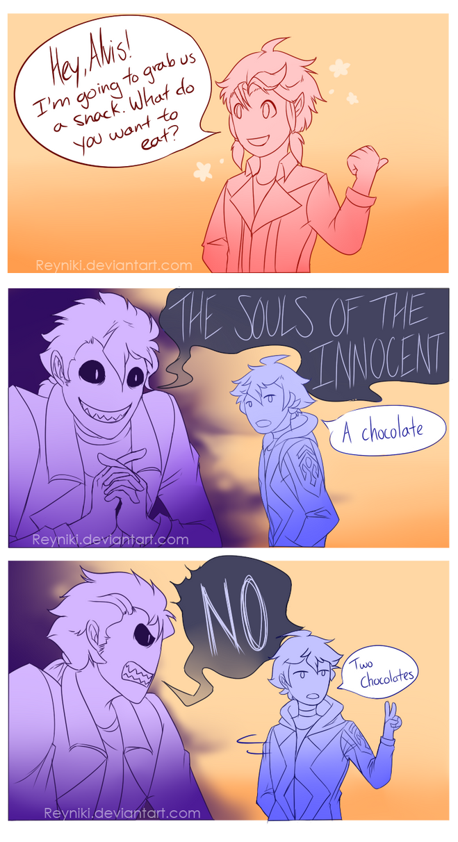 [COMIC] How to Piss Off a Ghost by Reyniki