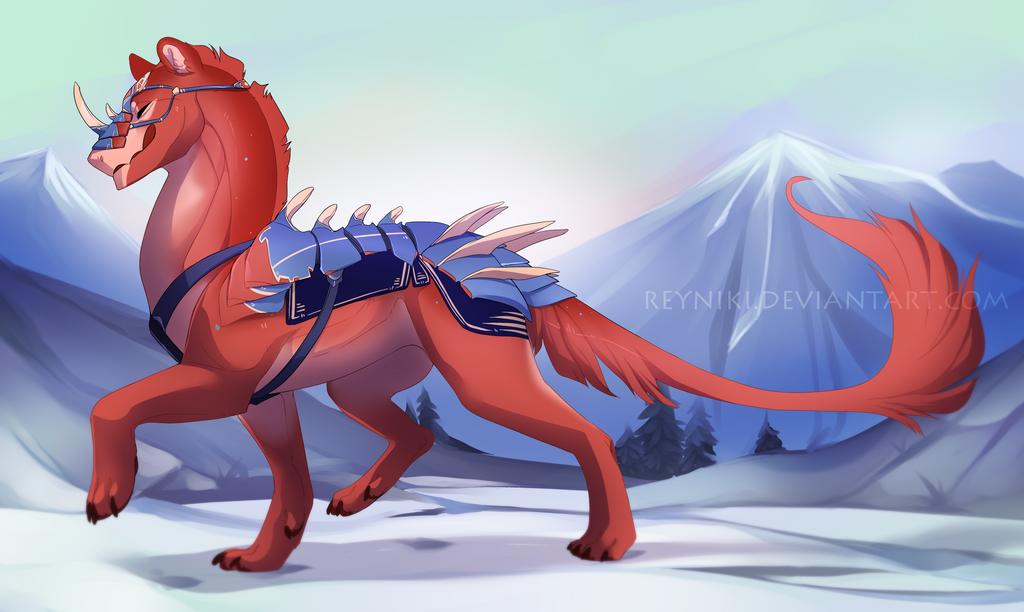 [WoR] Pink Dragon by Reyniki