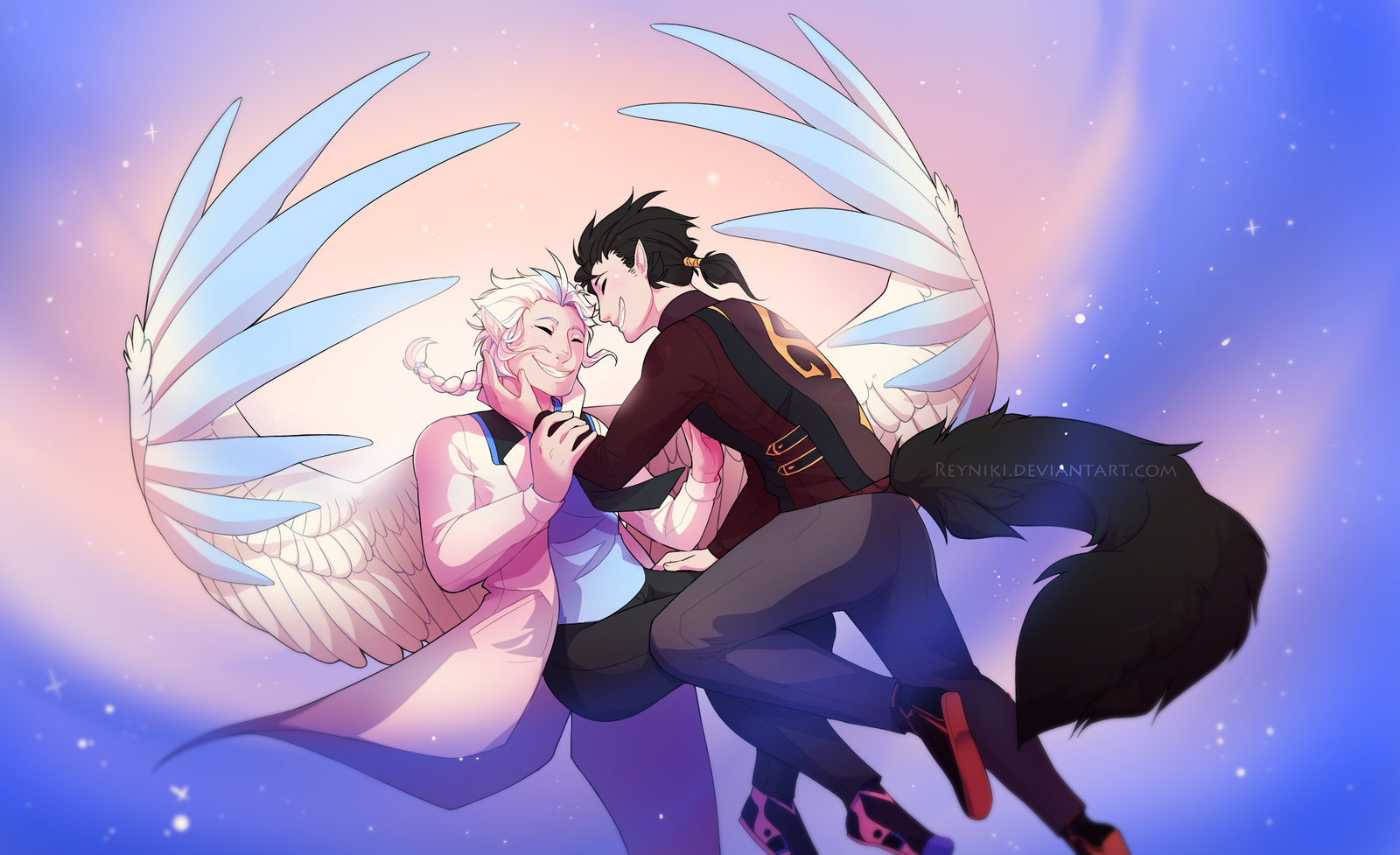 [Redraw] Falling for You by Reyniki