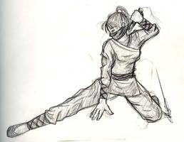 Ninja by aerussell