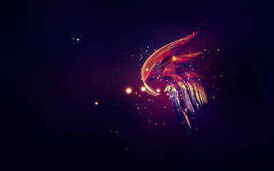 Astral Rainbow : Warm by volantK