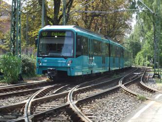 U5-Wagen 663 in Frankfurt Riederwald by MikoschWolfsoul