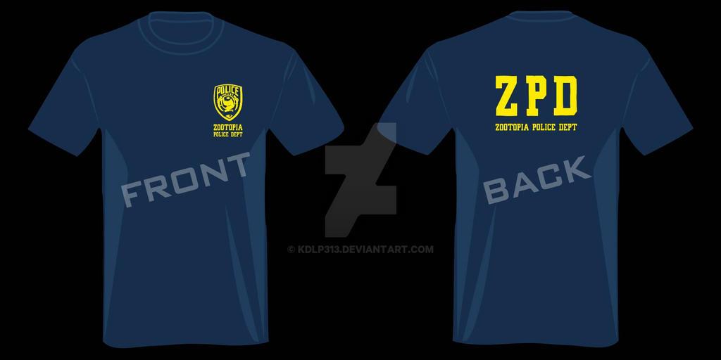 ZPD T-shirt design