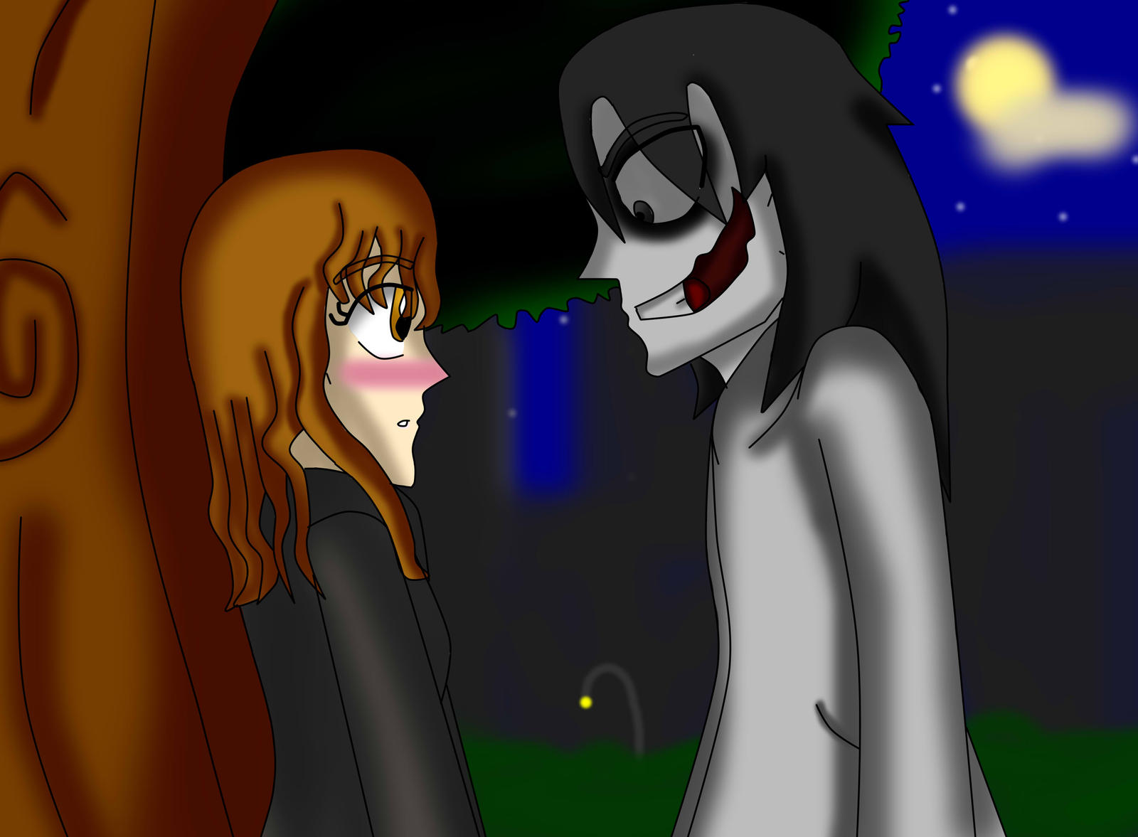 ::GraceXJeff The Killer: by SonicJuice