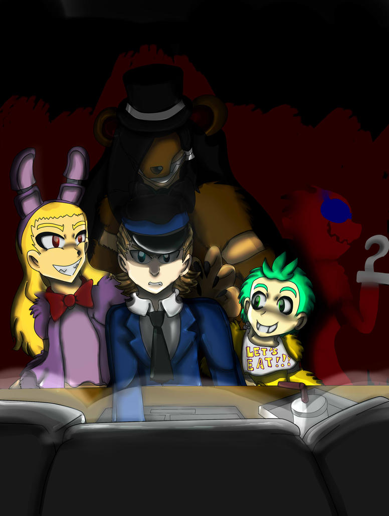 OC Crossover - 5 Nights at Freddy by SonicJuice