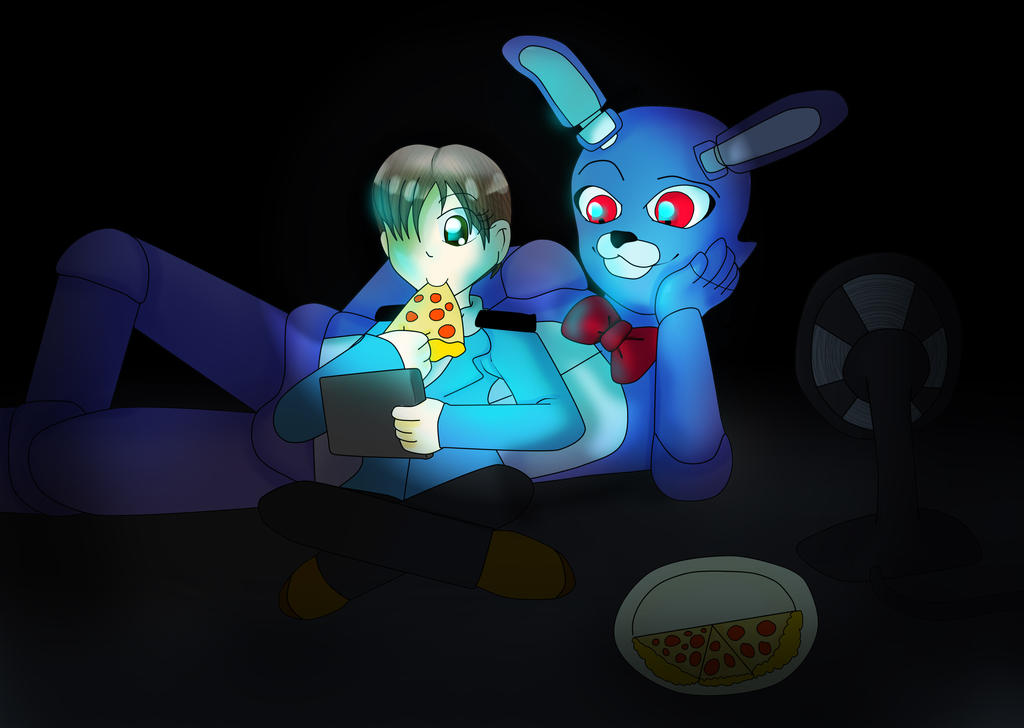 FNAF RQ25 - Night with Bonnie by SonicJuice