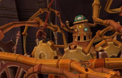 3D Steampunk Machine
