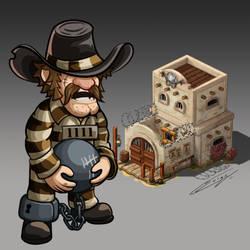 Western Prison Concept