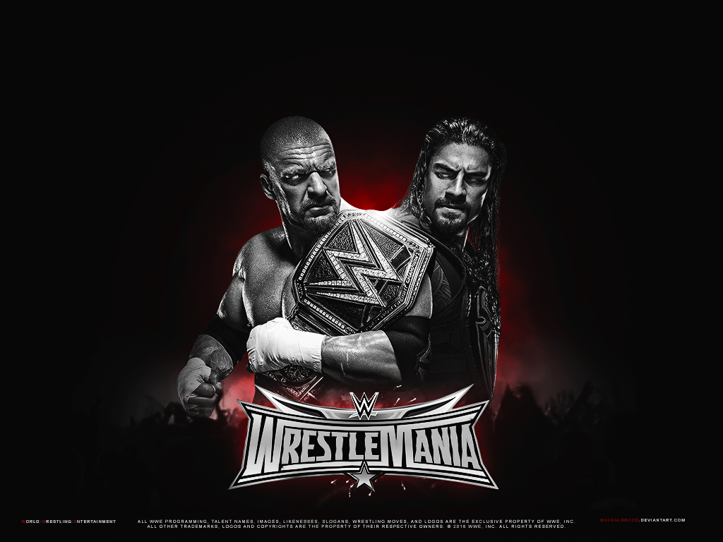 WWE Wrestlemania 32 Wallpaper By Mackalbrook On DeviantArt