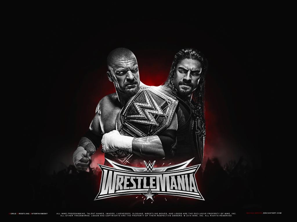 WWE Wrestlemania 32 Wallpaper By Mackalbrook On DeviantArt