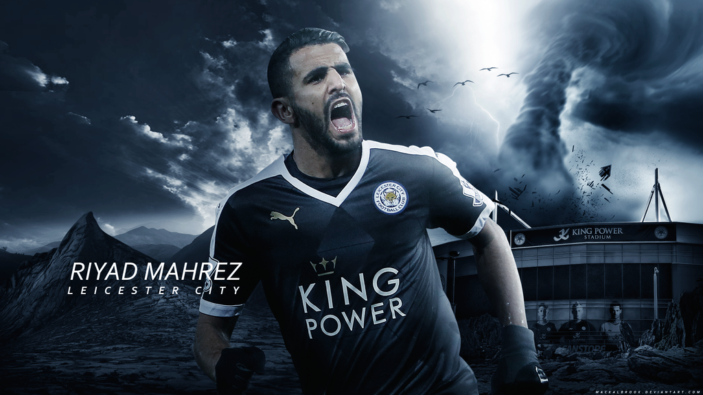 Riyad Mahrez Wallpaper By Mackalbrook On DeviantArt