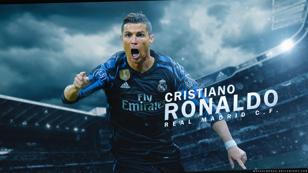Cristiano Ronaldo Wallpaper by Mackalbrook on DeviantArt
