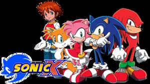 Sonic X Logo (English Version)