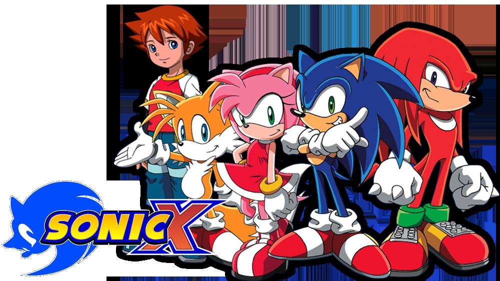 Sonic X Logo (English Version) by ThePinhead3333AA