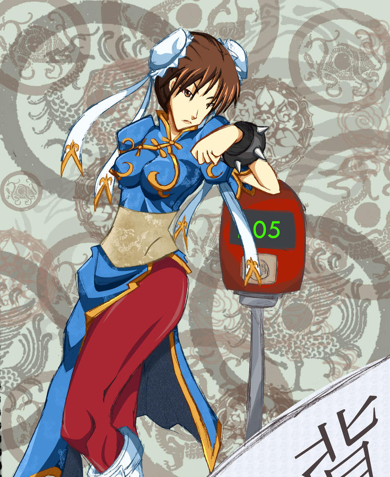 Chun li - Infraction - by HaruEta