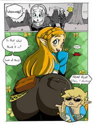 Zelda Booty Of The Wild