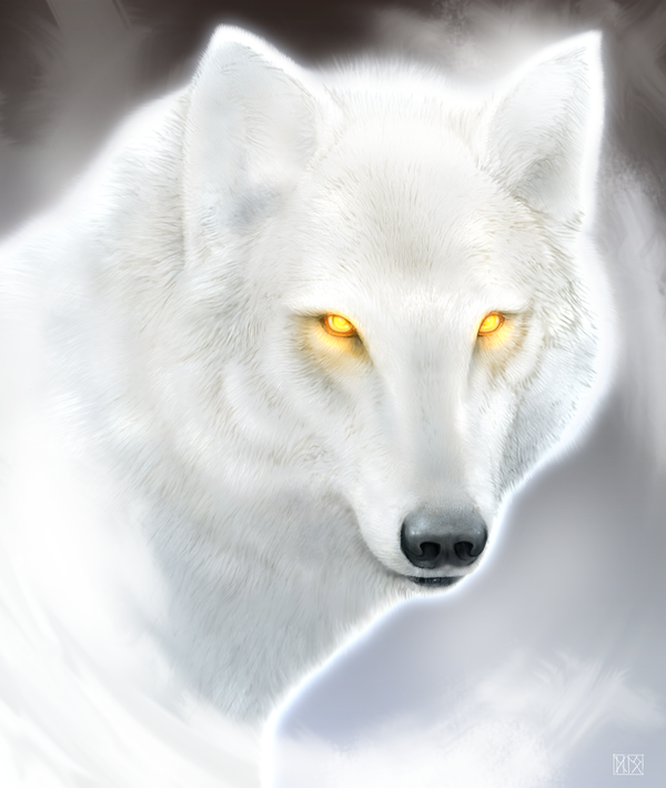 The Boreal King - Winter Wolf by dloliver