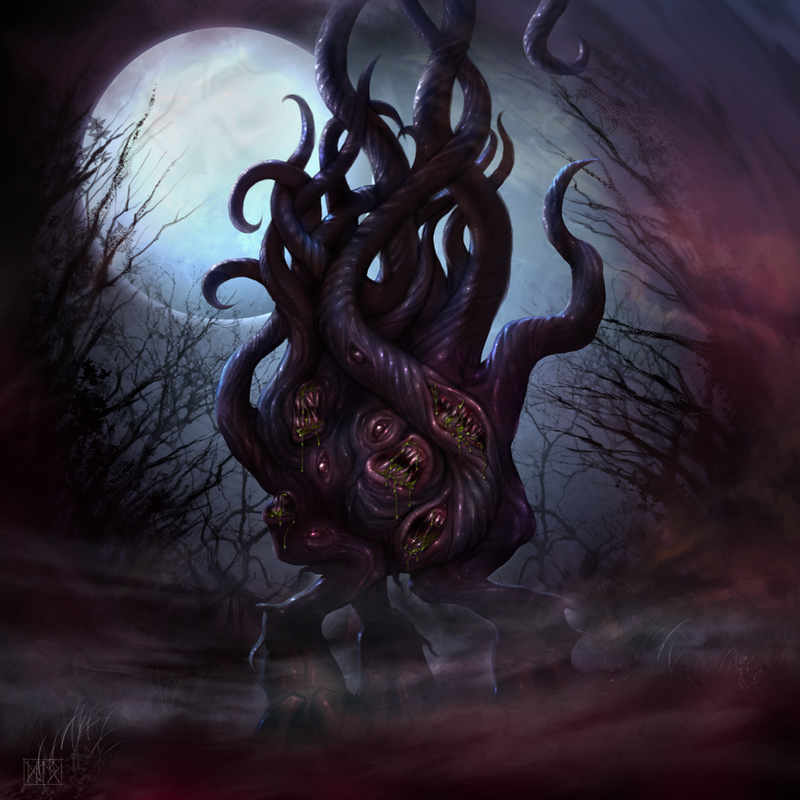 Dark Young of Shub-Niggurath by dloliver