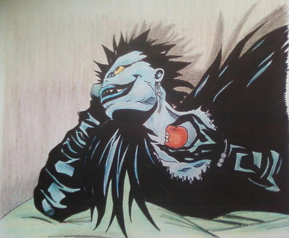Ryuk by brietta-a-m-f