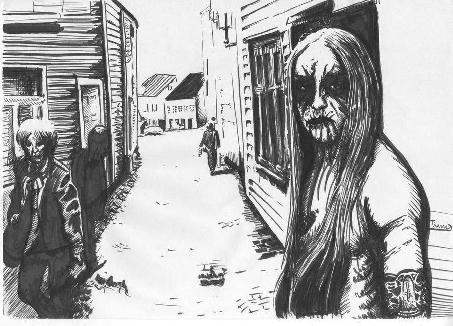 Black Metal Corpse Paint Averse Sefira