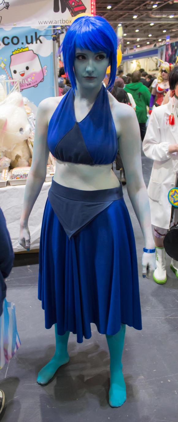lazuli gem Lapis cosplay