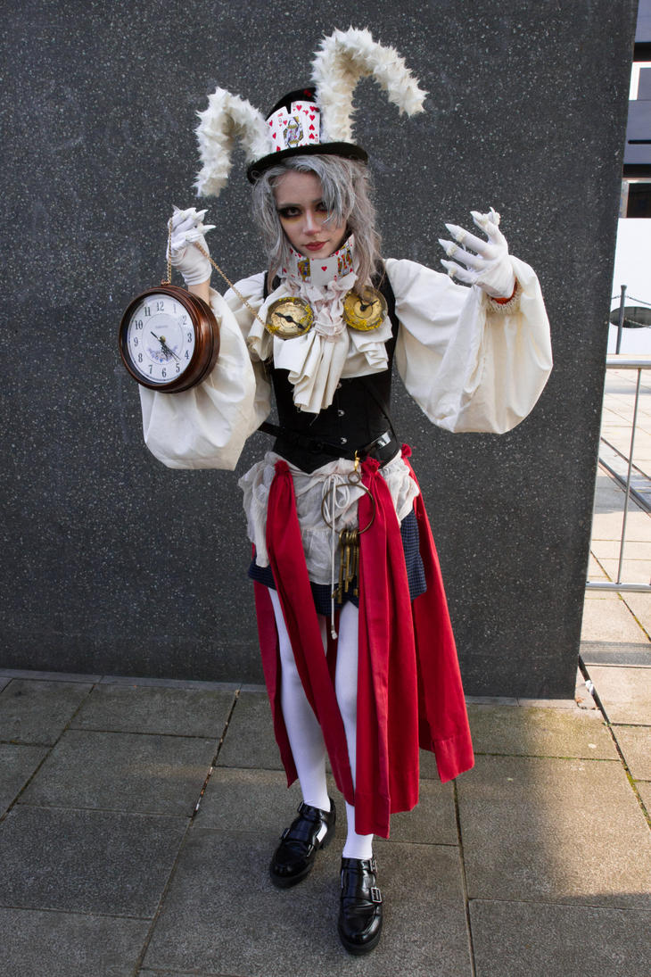 Alice In Wonderland Female White Rabbit Cosplay | www ...