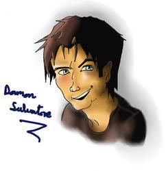 Damon Salvatore by Hitachiin-Sister