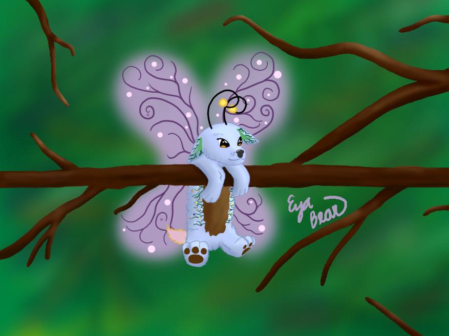 Earth Fairy Pup by eyabear on DeviantArt