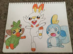 Pokemon - Galar Region Starters