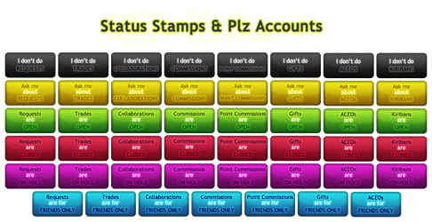 Status Stamps + Plz Accounts